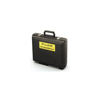 Fluke C120 Meter Heavy Duty Hard Carrying Case with Accessory Storage Black, 13.6 x 15.6 x 5