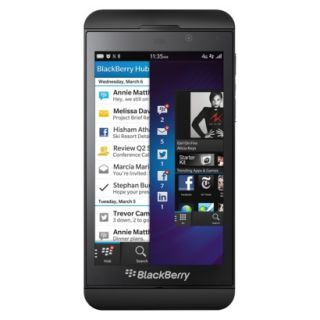 BlackBerry Z10 Unlocked Cell Phone for GSM Compatible   Black