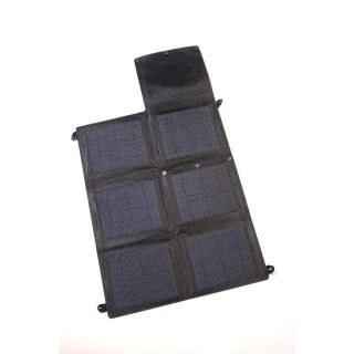 Grape Solar GSGoCharger20 Panel, 20 Watt Portable Folding Monocrystalline w/2 x 2 Amp USB Outputs
