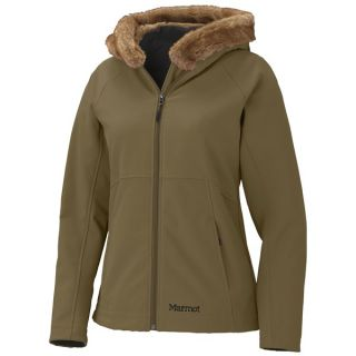 Marmot Furlong Soft Shell Jacket (For Women)   DARK OLIVE (M )