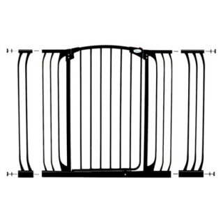 Dreambaby Chelsea Tall Xtra Hallway Swing Close Gate Combo   Black