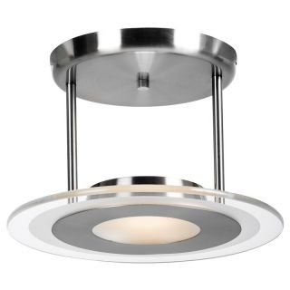 Access Lighting Helius Pendant Light   12W in. Brushed Steel Multicolor   50481