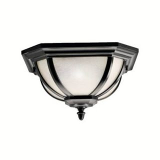 Kichler 9548BK Outdoor Light, Original Post Fixture Black (Painted)