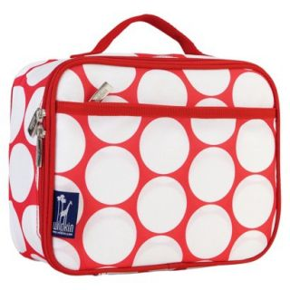 Wildkin Big Dot Lunch Box   RedWhite
