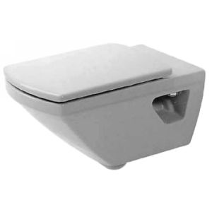 Duravit 0156090000 Caro Caro wall mount toilet bowl with wondergliss surface fin