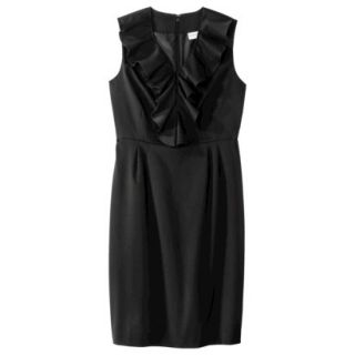 Merona Petites Sleeveless Sheath Dress   Black 6P