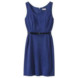 Merona Petites Sleeveless Fitted Dress   Blue LP