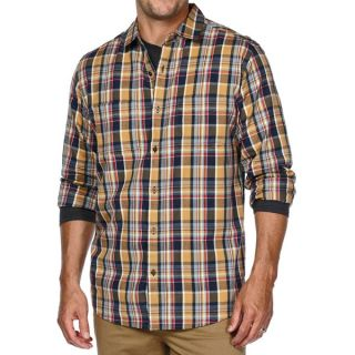 Horny Toad Mojo Flannel Shirt   Organic Cotton  Long Sleeve (For Men)   MARLIN (L )