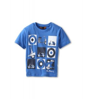 Ben Sherman Kids Justin Boys T Shirt (Blue)
