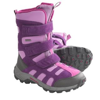 Merrell Moab Polar Snow Boots   Waterproof  Insulated (For Kids and Youth)   WINEBERRY (5 )