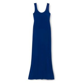 Merona Petites Sleeveless Maxi Dress   Blue XLP