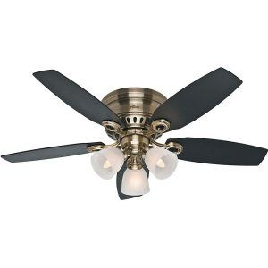 Hunter HUF 52085 Hatherton Traditional Ceiling Fan with light