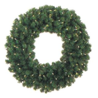 Brite Ideas Decorating 48 in. Pre lit Christmas Wreath Multicolor   48WRMU