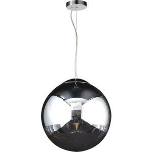 PLC Lighting PLC 14855 PC CFL Mercury 1 Light Pendant Mercury Collection