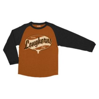 NCAA Kids T Shirt Team Texans   Brown (L)