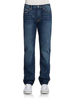 Slimmy Straight Leg Medium Wash Jeans   Medium Wash