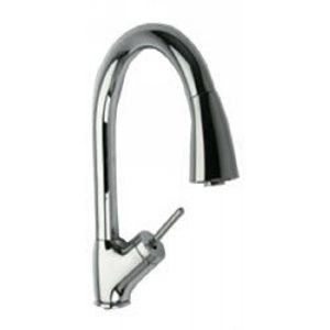 LaToscana 64CR591JO Kitchen Faucets Single Handle Kitchen Faucet With Pull down