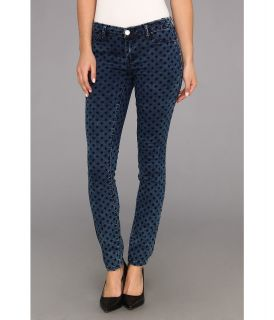 Blank NYC The Spray On Skinny in Polka Dot Denim Womens Jeans (Black)
