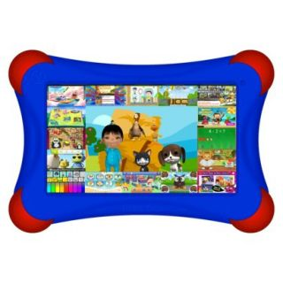 Visual Land Prestige Pro FamTab 8GB 1.6GHz Dual Core Android Tablet   Royal Blue