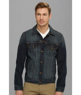 Lucky Brand Riddle Denim Jacket Mens Coat (Blue)