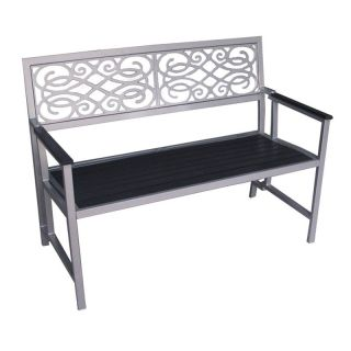 DC America Aluminum Portable Folding Garden Bench Multicolor   FBC228 VE