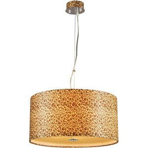 PLC Lighting PLC 73097 PC Leopard 5 Light Pendant Leopard Collection