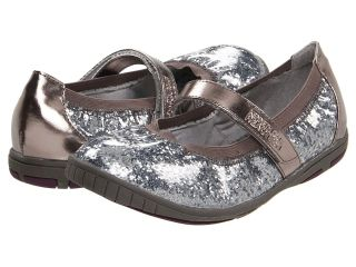 Kenneth Cole Reaction Kids Prize On By Girls Shoes (Pewter)
