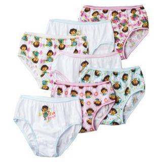 Dora the Explorer Girls 7 Pack   Assorted 4
