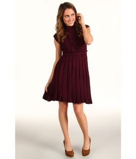 Jessica Simpson Turtleneck Sweater Dress Womens Dress (Purple)