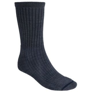 Woolrich Big Springs Socks   Merino Wool  Lightweight  Crew (For Men)   INDIGO (M/L )