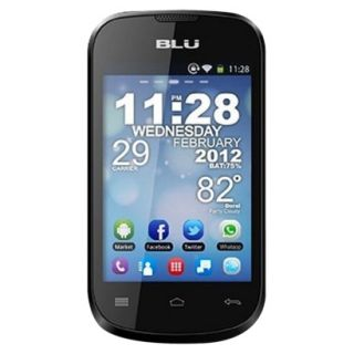Blu Dash 3.5 D170a Unlocked Cell Phone for GSM Compatible   Black