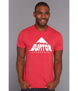 Burton McKinley Recycled Slim Fit Tee Mens T Shirt (Red)