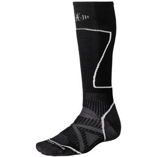 SmartWool PhD Ski Socks   Merino Wool (For Men and Women)   SILVER (L )