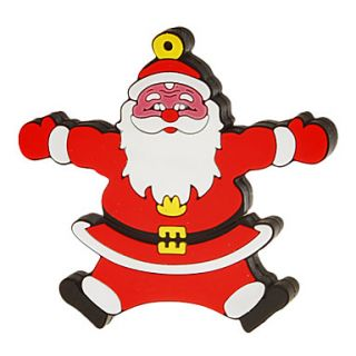 4G Cartoon Santa Clau Shaped USB Flash Drive
