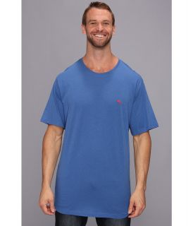 Tommy Bahama Big Tall Cotton Modal Knit S/S Tee Mens T Shirt (Blue)