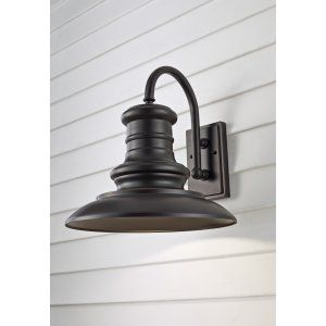 Feiss FEI OL9004RSZ Redding Station 1   Light Outdoor Lantern
