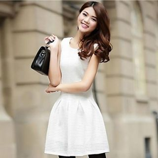 Womens Sleeveless Slim Mini Dress