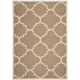 Safavieh Indoor/ Outdoor Courtyard Brown Rug (4 X 57)