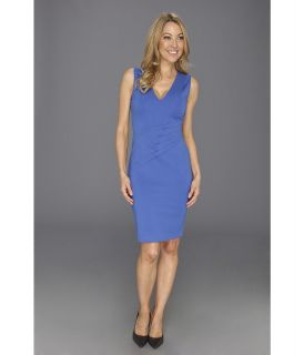 Kenneth Cole New York Theophania Dress Womens Dress (Blue)
