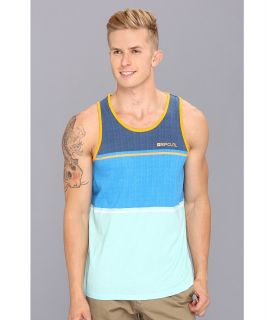 Rip Curl Aggrosection Tank Mens Sleeveless (Blue)