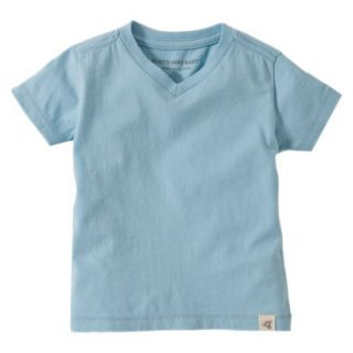 Burts Bees Baby Toddler Boys V Neck Tee   Misty Blue 4T