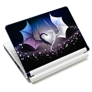 Loving Dragon Pattern Laptop Notebook Cover Protective Skin Sticker For 10/15 Laptop 18618