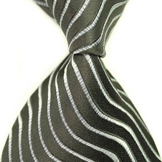 Mans Fashion Stylish Stripes Tie Necktie