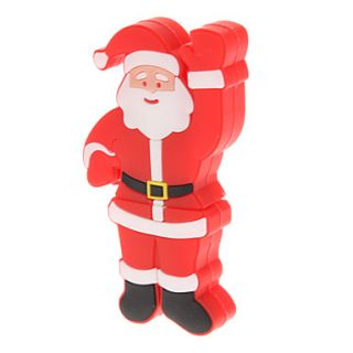 Plastic Santa Claus Model USB 8GB