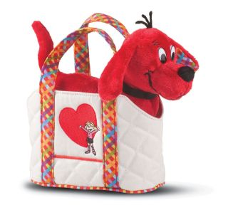 Plush Clifford The Big Red Dog with Tote Bag