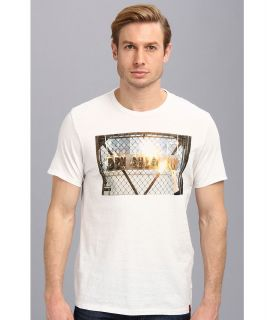 Ben Sherman Fire Logo Mens T Shirt (White)