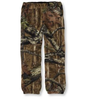 Kids Trail Model Fleece Pants, Camouflage Kids