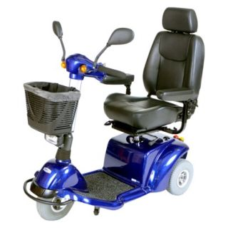 Pilot 2310 3 Wheel Medium Size Scooter   20 Captains Seat, Midnight Blue
