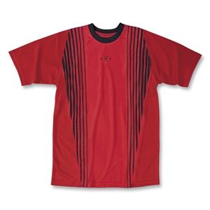 Xara Womens Reading Soccer Jersey (Red/Blk)