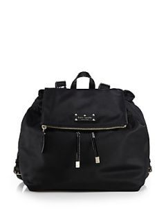 Kate Spade New York Nylon Backpack   Black